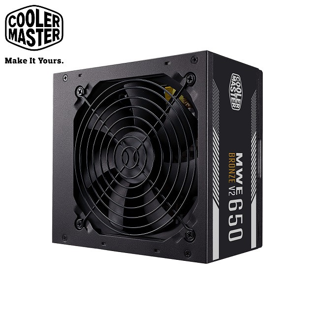 Cooler Master NEW MWE 650 BRONZE V2 80Plus 銅牌 650W 電源供應器