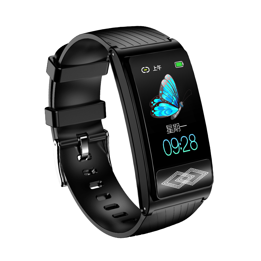 【現貨 免運】 健康智能手環 監測心率 量血壓 心臟心電圖測量儀 手環vivo/蘋果/oppo/華為適用 高精準電子測量