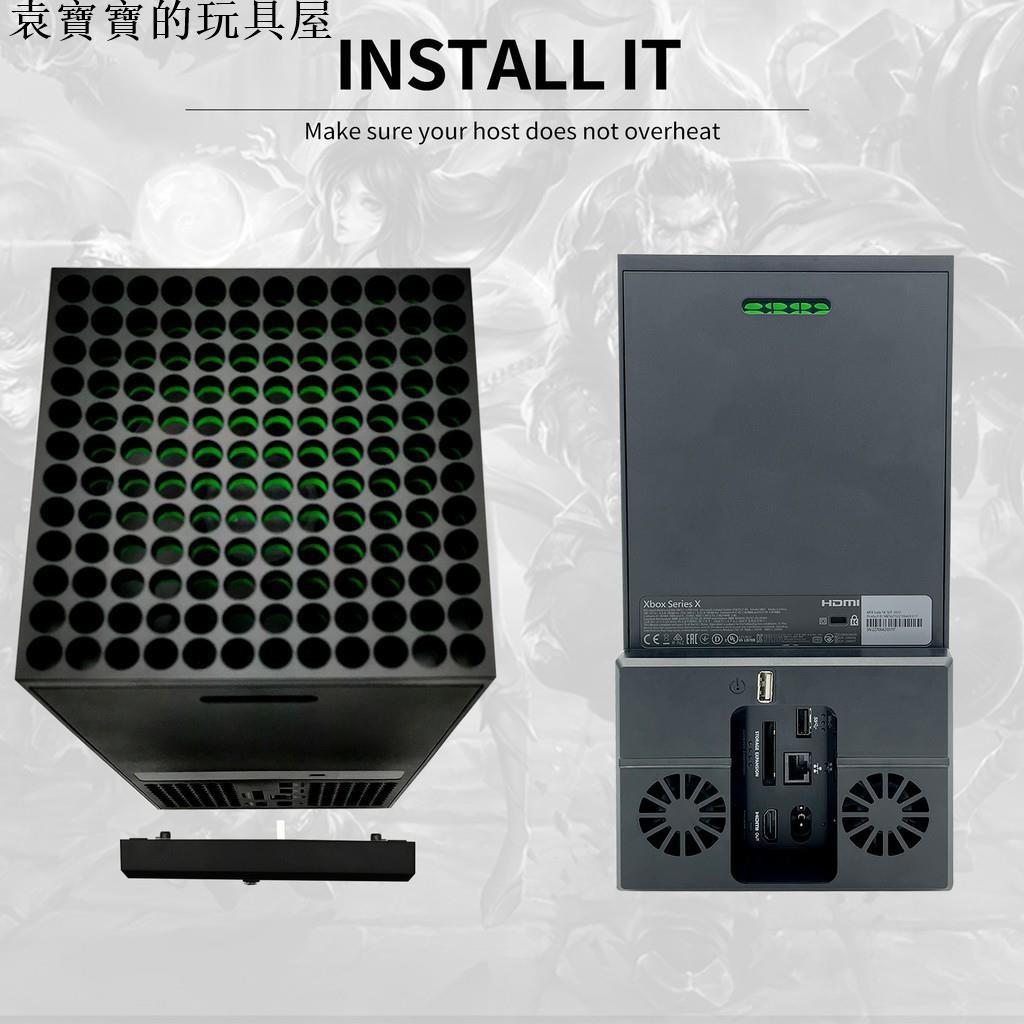 【熱賣】【好物種草】現貨 Xbox Series X遊戲主機後置風扇 散熱風扇 xbox ser