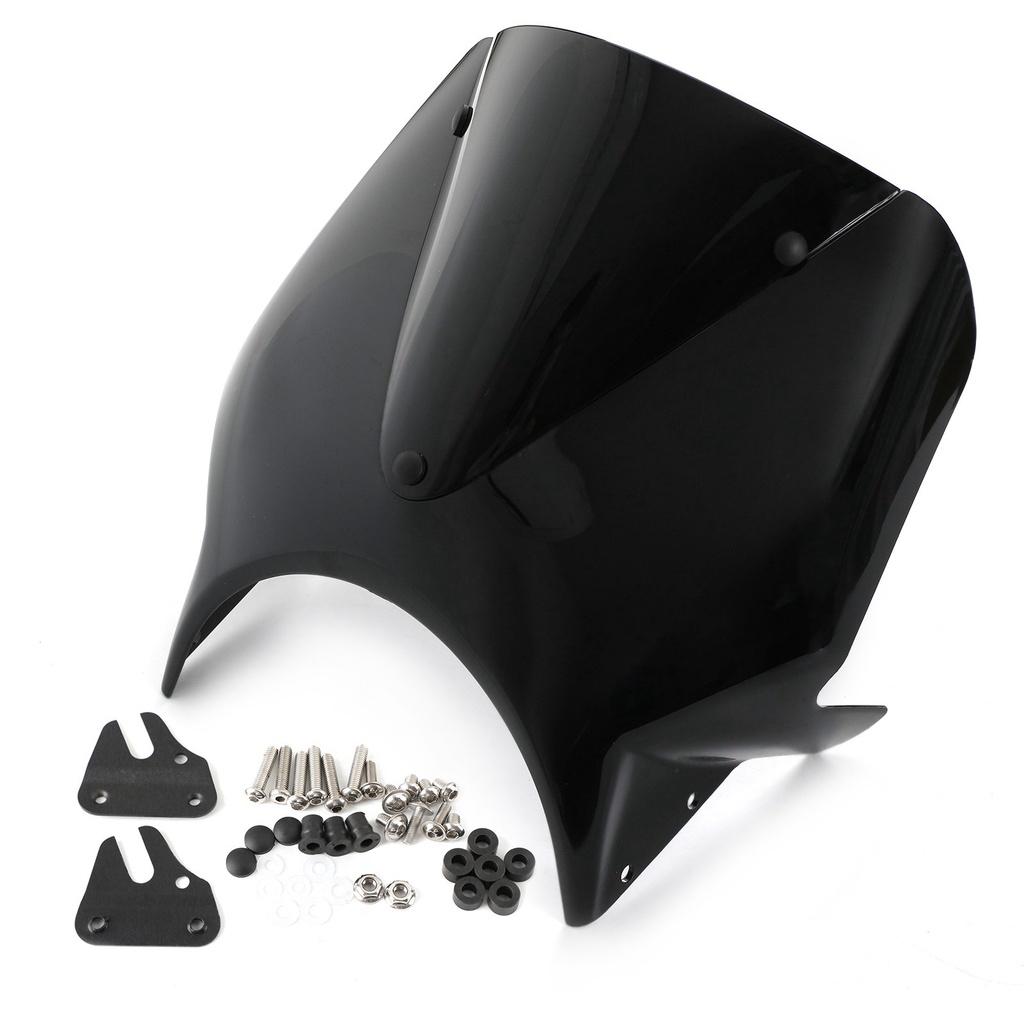 Yamaha XSR700 XSR900 2020 ABS抗壓擋風鏡 黑色-極限超快感