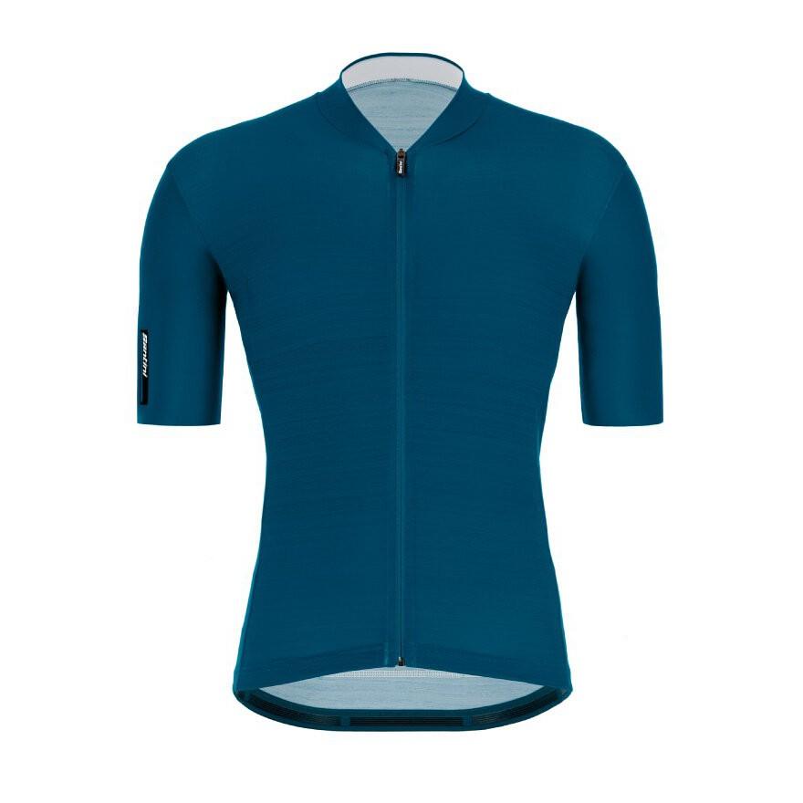 2021 Santini 【色彩】短袖車衣- 鴨綠