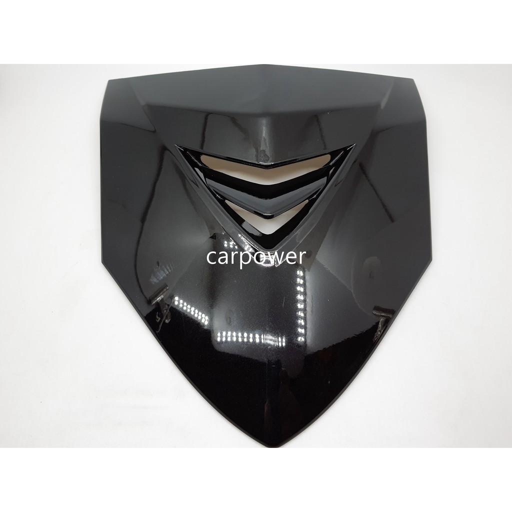 【carpower汽機車精品】E-GIN EGIN 新勁戰 二代戰 二代勁戰 大盾牌 素色 黑色/消光黑
