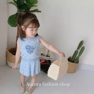 🇹🇼歐蘿菈童裝💕 熱銷款 艾莎公主針織刺繡套裝 台中市