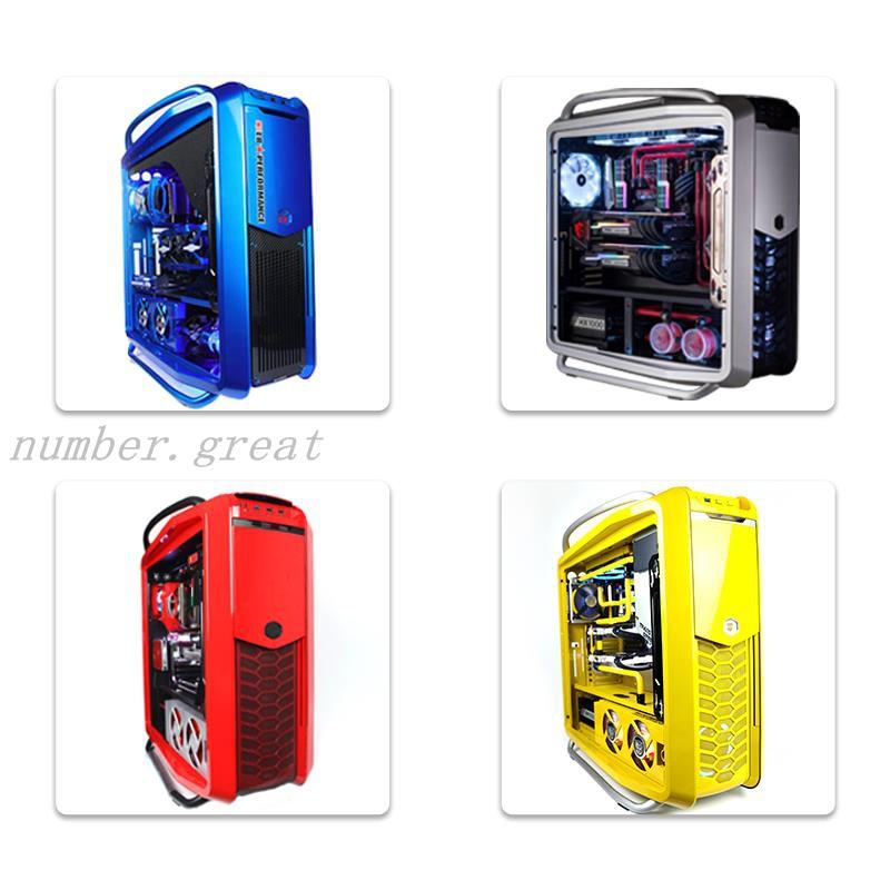 下殺☆FUXK COSMOS II 高配i9 10900K/RTX3080ROG全家桶水冷MOD電腦臺式