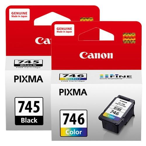 CANON PG-745 PG-745XL CL-746 CL-746XL 原廠盒裝墨水匣 含稅