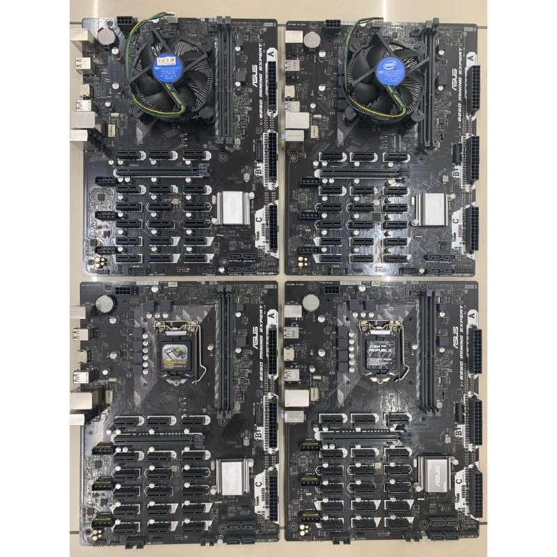 ASUS華碩B250 Mining Expert 19卡 二手自用主機板(可搭配intel G3930一起選購)出清售