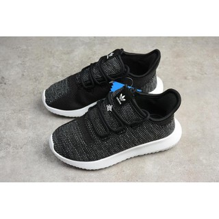 Adidas Original Tubalar Shadow Knit 黑色 百搭 休閒 BY2222 童鞋 基隆市