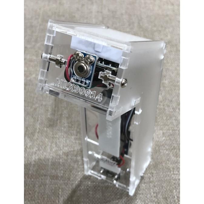 《1332》(現貨)GY-906 MLX90614ESF-BAA 非接觸紅外線測溫套件 額溫槍 組裝完成