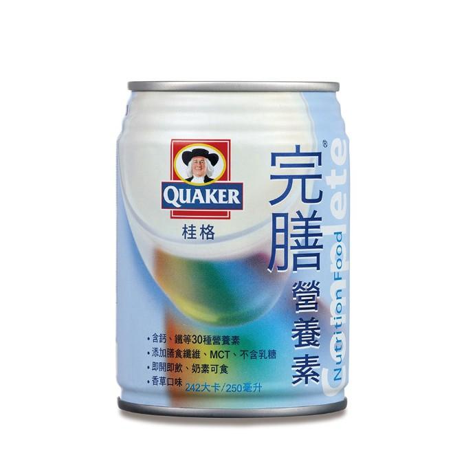 桂格 完膳營養素 香草 250mlx24罐 *運送過程難免凹罐故不退換 *
