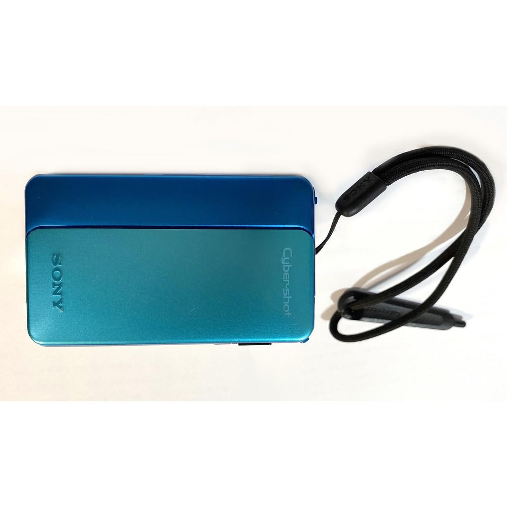 【二手】SONY DSC-TX20 數位相機 防水 藍