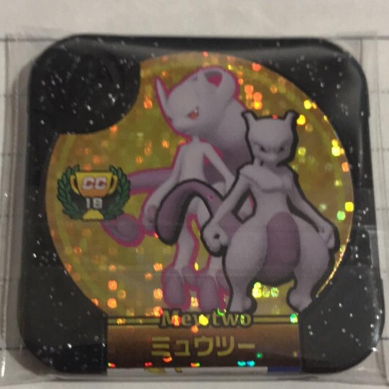 正版 [勁敵珍藏彈] CC18 金卡 超夢 y 史上最強超夢 神奇寶貝 Pokémon Tretta 卡匣 金超夢