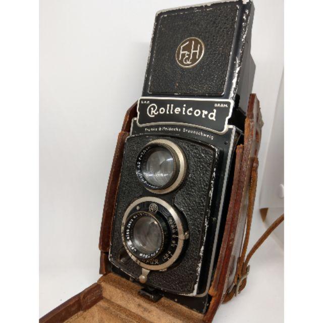 Rolleicord ii model 1 - model k3 古董雙眼底片相機