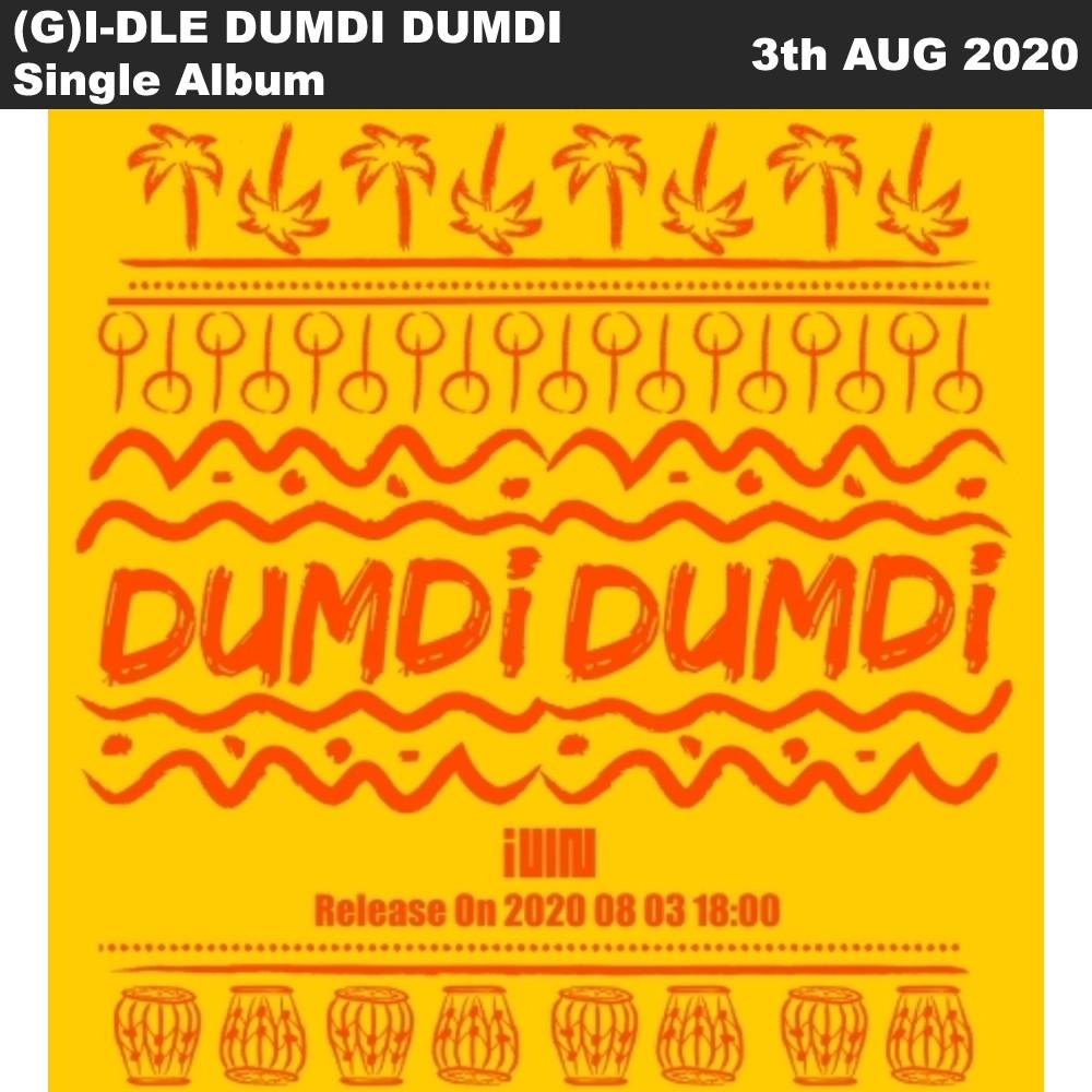 (G) I-DLE 單曲專輯DUMDI DUMDI (CD +小冊子+寫真卡等)