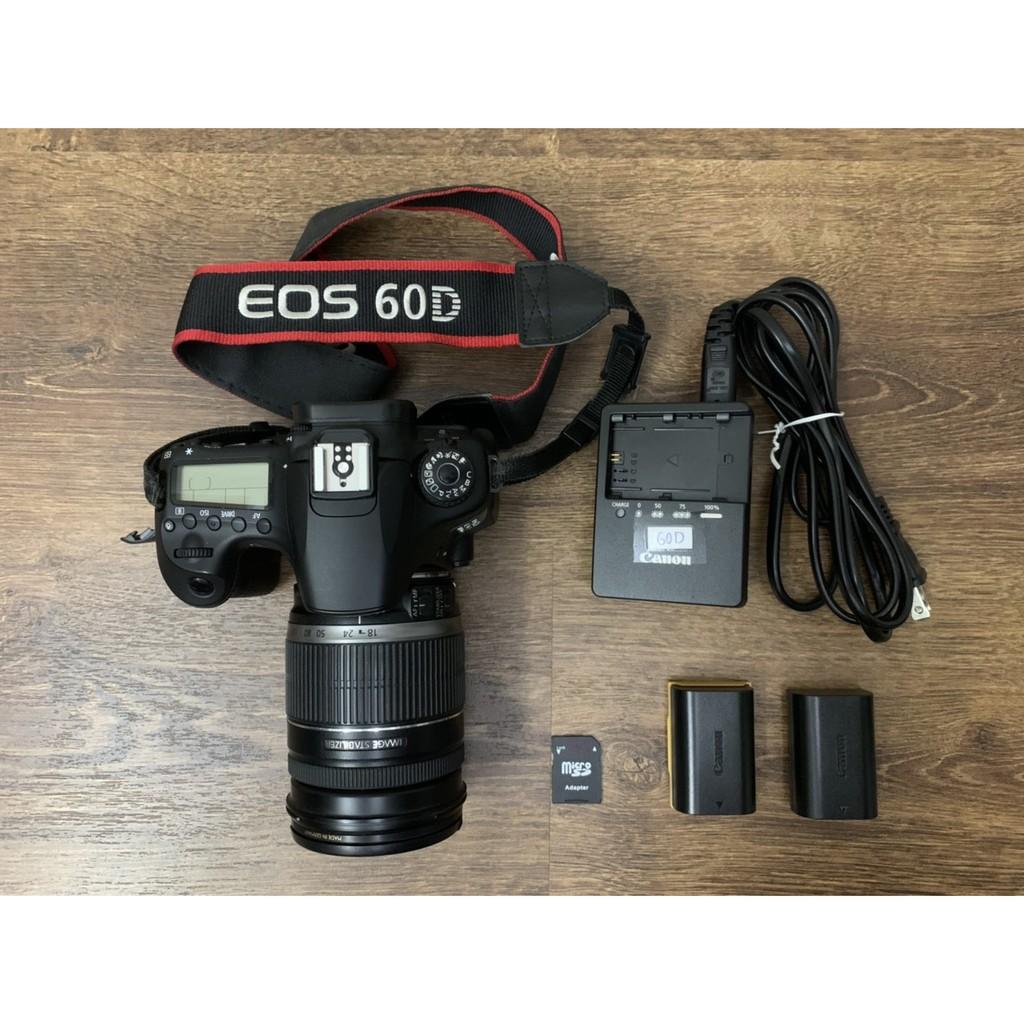 【小松舖 】Canon 60D公司貨 + 原廠EF-S 18-200mm f/3.55.6 IS鏡頭 二手