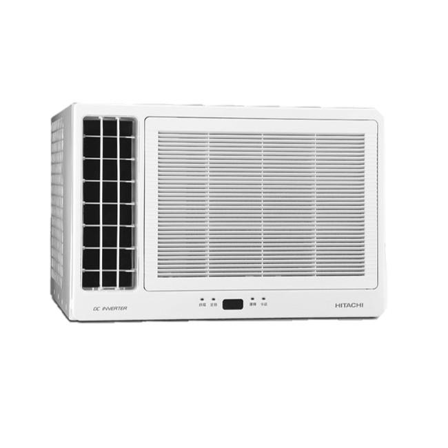 【來電詢價免運】Hitachi 日立 4-5坪 變頻 左吹式窗型冷暖空調 RA-28HV1