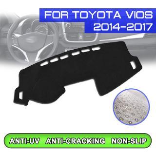 豐田 Toyota VIOS 2014-2017 專車專用A+避光墊 遮光墊 防塵 加厚 止滑 矽膠底 防滑 防曬