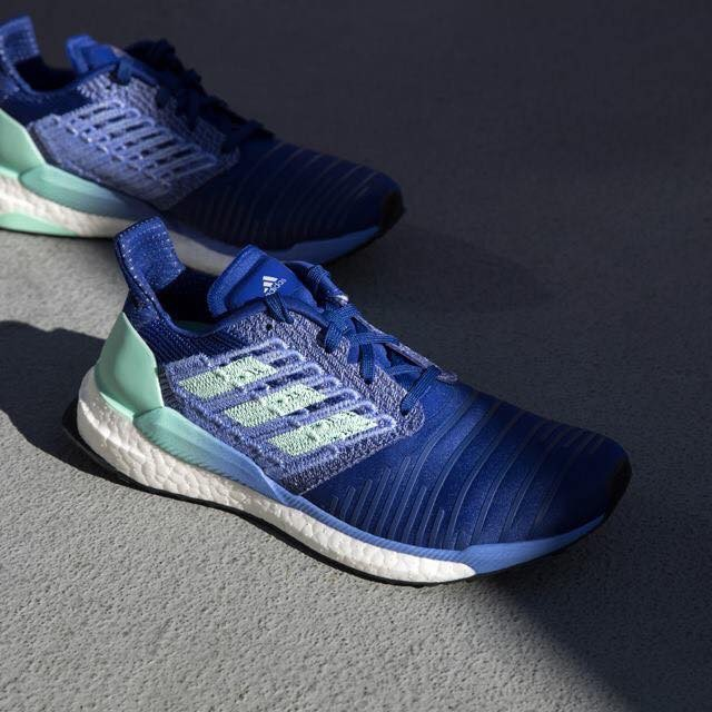 【豬豬老闆】ADIDAS SOLAR BOOST 藍色 慢跑 編織 透氣 馬牌 輕量 慢跑鞋 女鞋 BB6602