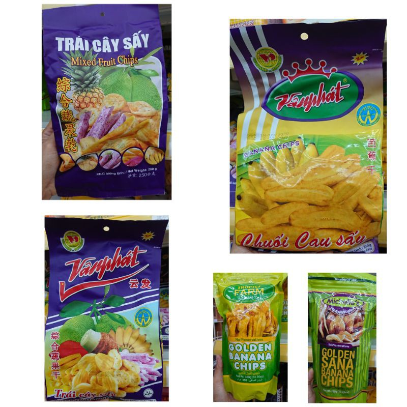 Banana Chips and Mix Chips