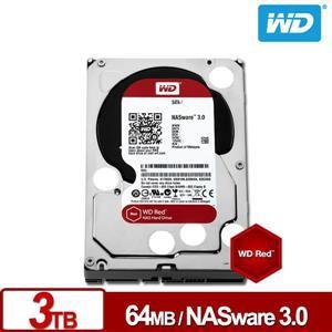 WD 紅標 3TB / 4TB / 6TB / 8TB / 10TB 3.5吋 NAS 硬碟 (NASware3.0)