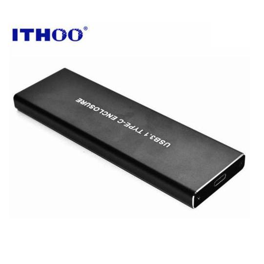 ITHOO M.2(NVMe) PCI-E SSD to USB3.1 Gen2 SSD外接盒 Type-c