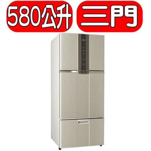 《可議價》SAMPO聲寶【SR-N58DV(Y2)】580公升變頻三門冰箱