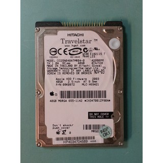 故障 HITACHI 2.5吋 IDE介面 筆電硬碟 IC25N040ATMR04-0 桃園市