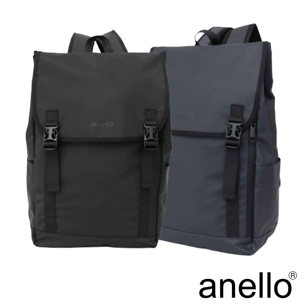 anello NESS 質感素色防潑水翻蓋式後背包 (AT-C2542)