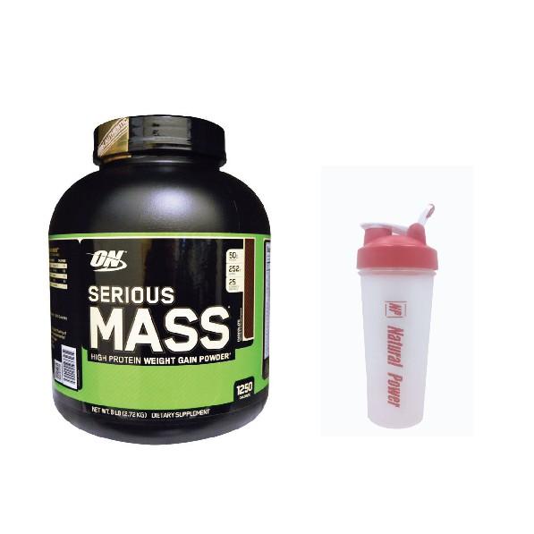 【CZ】美國 推薦ON serious mass高熱量 乳清蛋白 增重 6磅