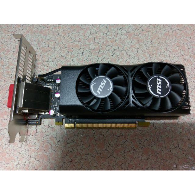 微星 MSI GTX 1050 TI 4GT LP 顯示卡