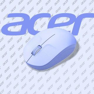 (滿399出貨)acer宏碁無線鼠標靜音男女生紫色迷你可愛筆記本電腦人體工學滑鼠 高雄市
