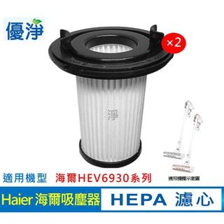 原廠現貨 Haier 海爾 HEV6930系列無線吸塵器 原廠 HEPA 濾心(2入組) 新北市