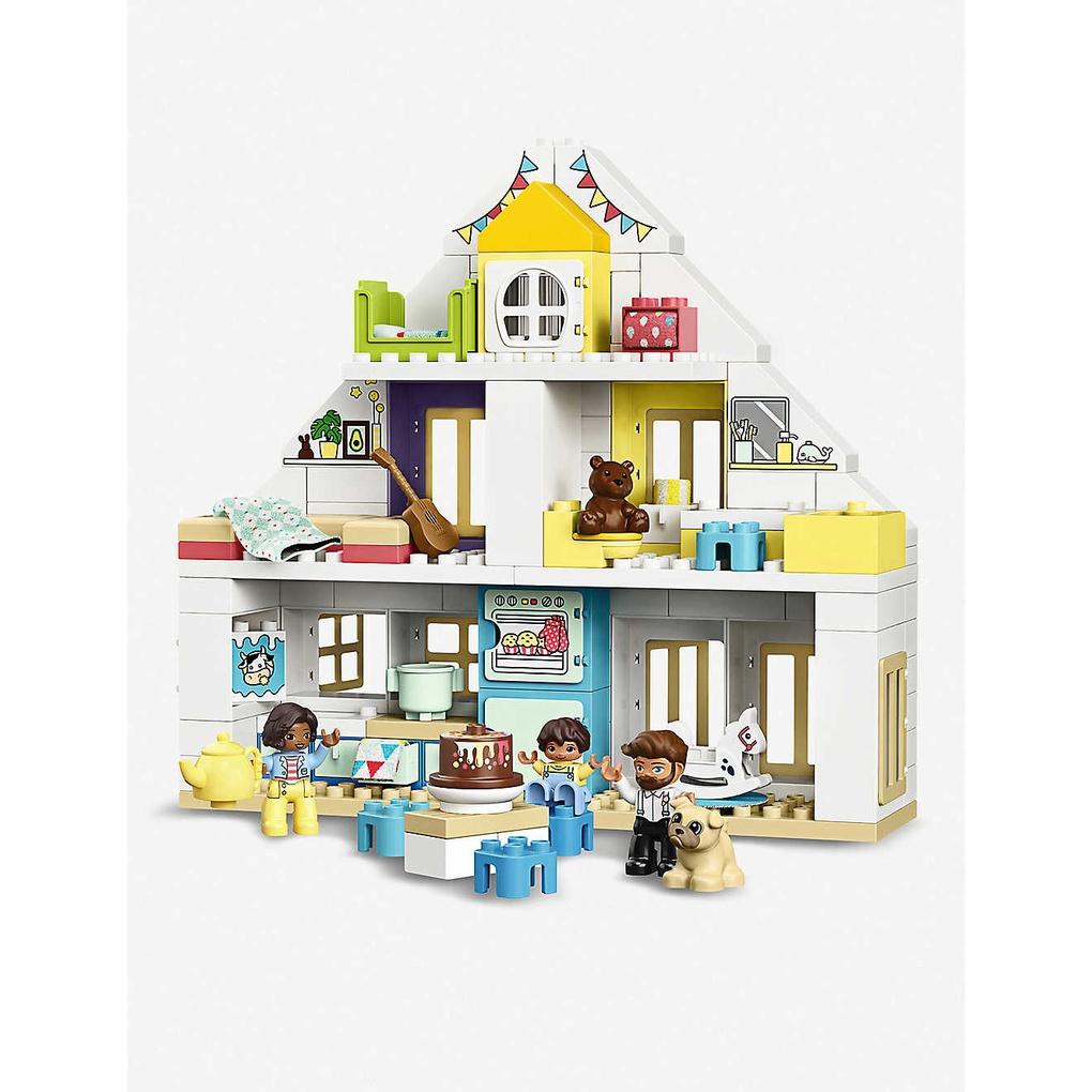 LEGO 樂高   得寶幼兒系列 模組玩具屋 10929 學齡前 扮演遊戲(10929)