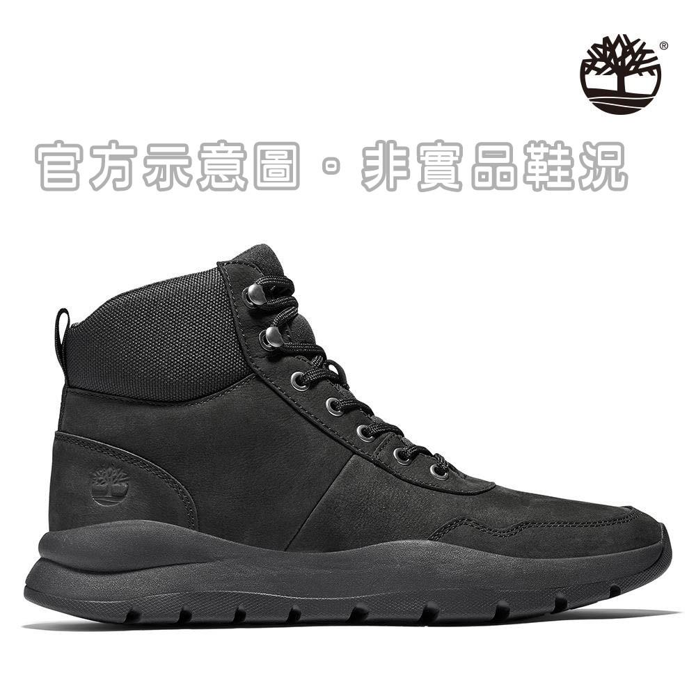 [二手] Timberland 男款黑色磨砂革山型中筒靴/A27WM015/九成五新/US7(25cm)