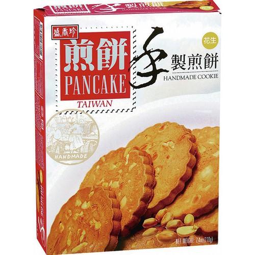 盛香珍 手製煎餅花生口味(210g/盒)[大買家]