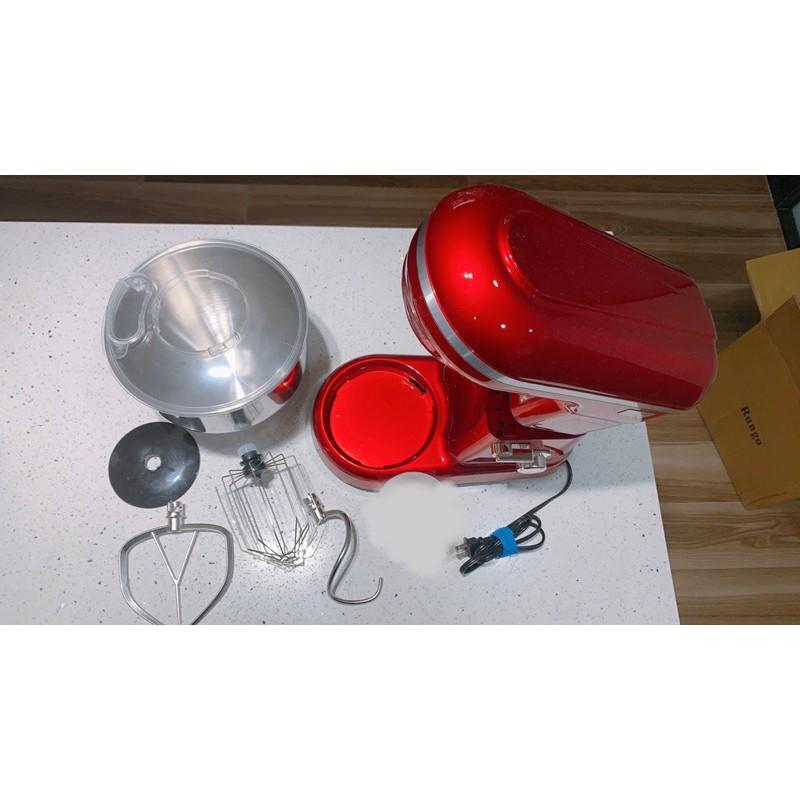 Rungo 5.5L多功能抬頭式揉麵攪拌機 (經典紅)