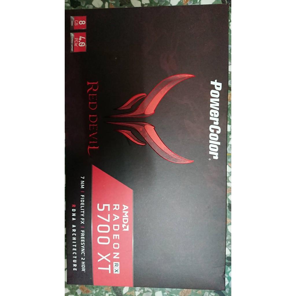 撼訊RED DEVIL 紅魔 RX 5700XT