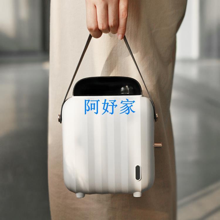 USB暖風機 usb暖風機便攜式智能暖風扇小型迷你電暖氣空調制熱電取暖器宿舍 全館免運