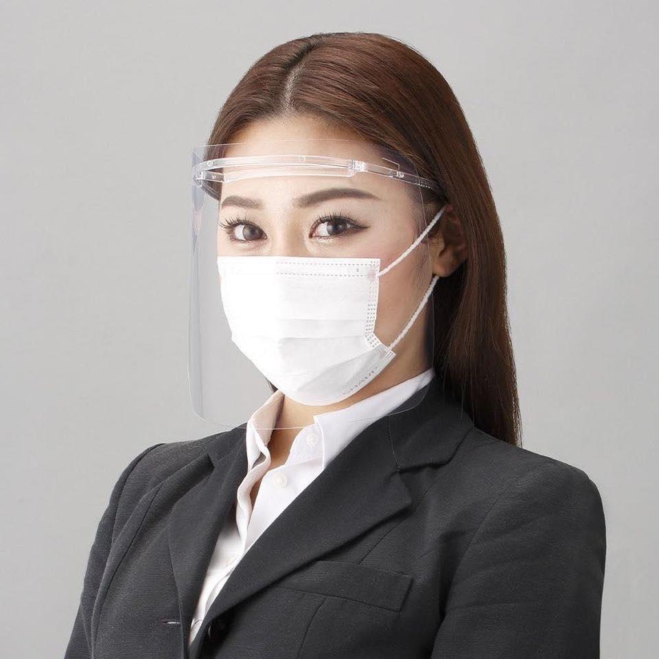 *台灣現貨* 日本 夏普公司貨㊣ SHARP 夏普蛾眼科技防護面罩 防疫