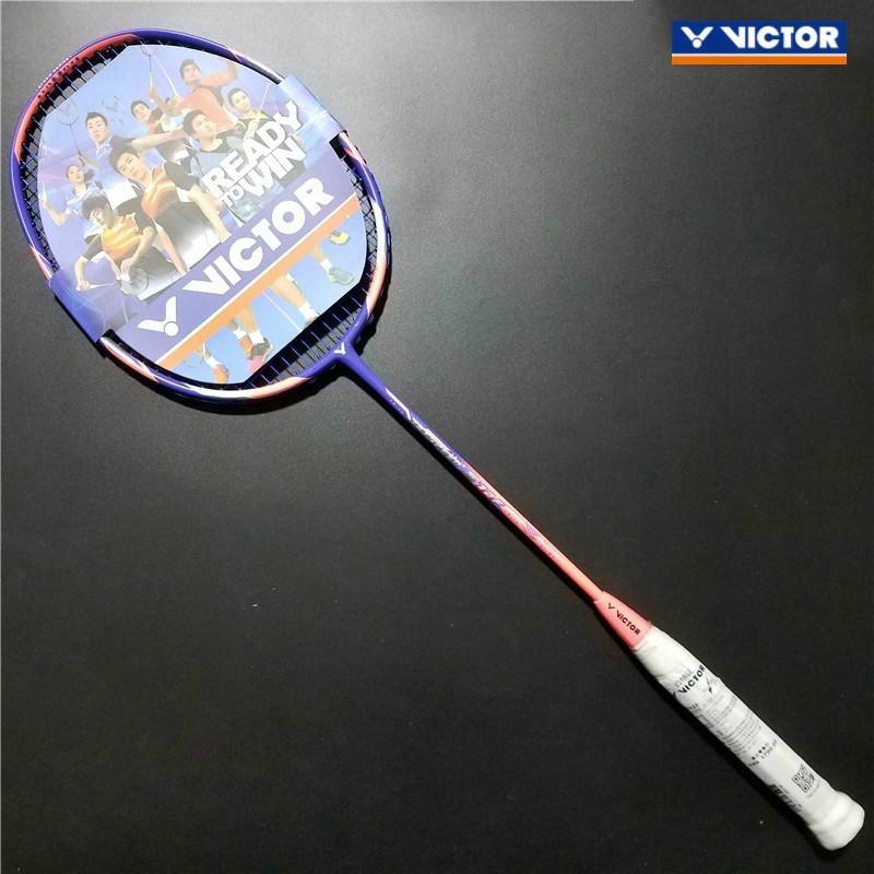 Free String Victor Victor JETSPEED S12F羽毛球拍Carbon Raket mlt