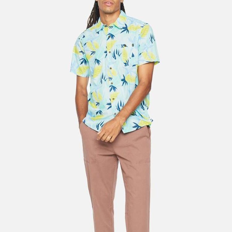 HURLEY|男 ORG BIRDROCK SS 短袖襯衫