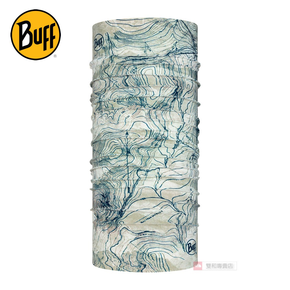 -滿3000免運-[THE NORTH FACE雙和專賣店]BuffCoolnet 驅蟲頭巾/BF122781/水色墨漬