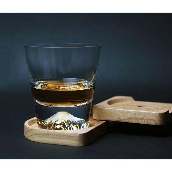 日本直送 江戸硝子 田島硝子 富士山杯 威士忌杯 TG15-015-R (原裝木盒) 現貨