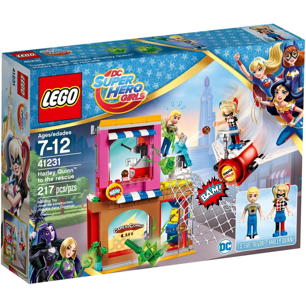 41231【LEGO 樂高積木】 超級女英雄系列-Harley Quinn to the rescue