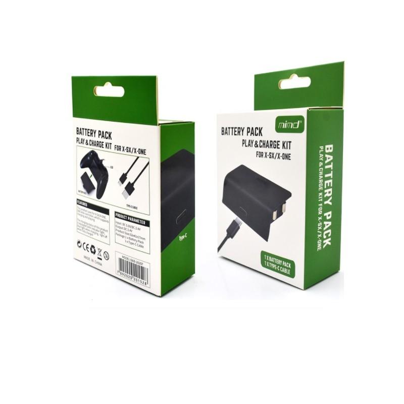 MIMD SND-2025T xbox Series 同步充電套件 XBOX控制器 副廠電池