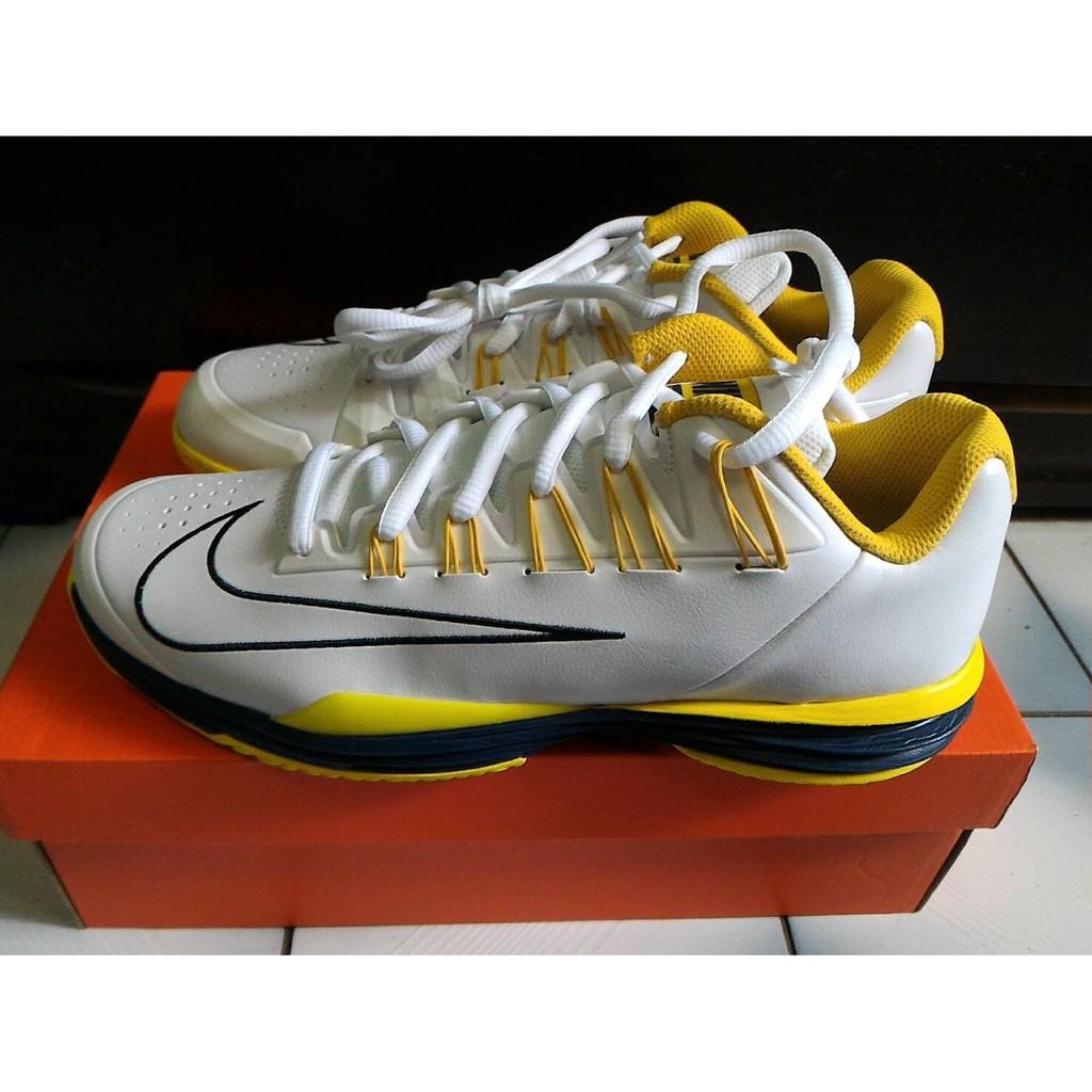最後出清 全新 NIKE Lunarballistec 1.5 網球鞋 Nadal 納達爾 蠻牛-US12