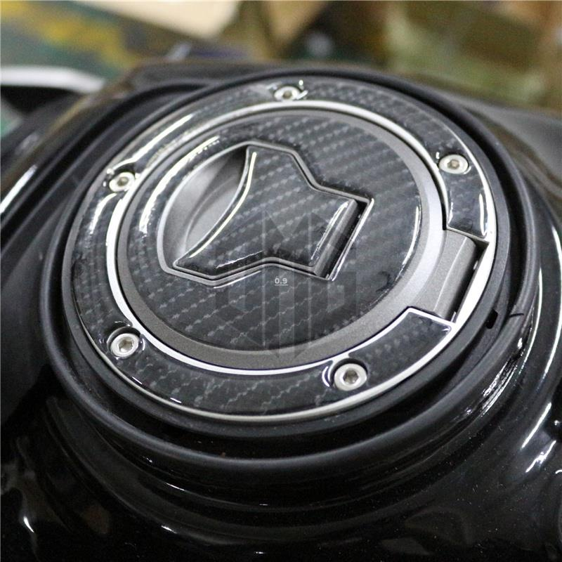 【機車改裝】適用本田CB650R CB650F CBR650R 改裝油箱蓋貼碳纖維防劃貼花貼紙🍩0.9🍩