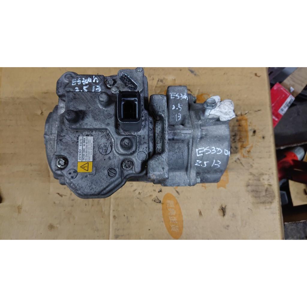 包料王 2013年 Lexus ES300H 全車零件拆賣 實車5萬公里 原廠壓縮機