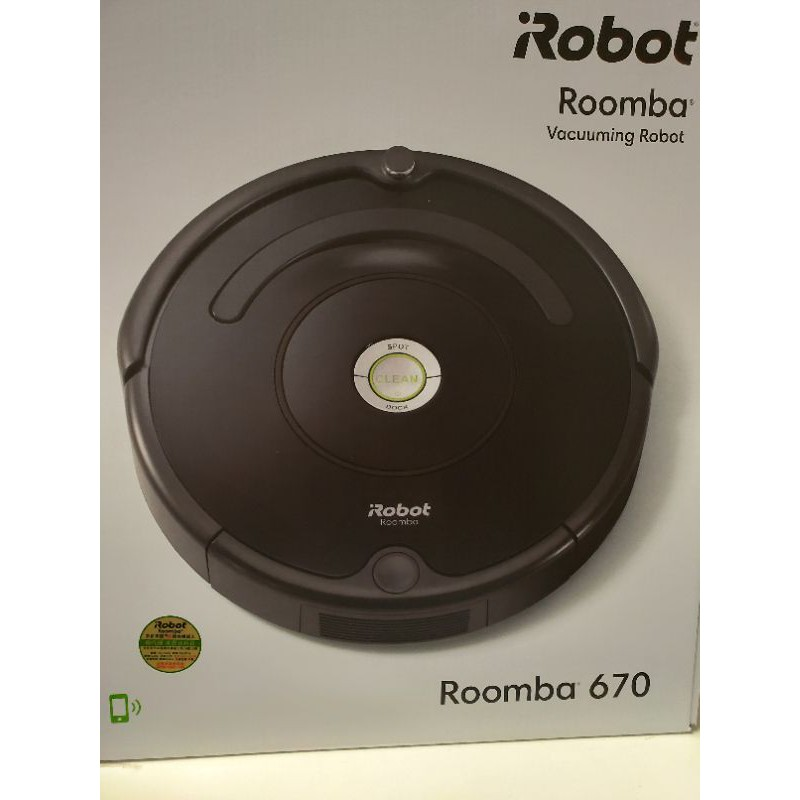 iRobot】美國iRobot Roomba 670 wifi掃地機器人