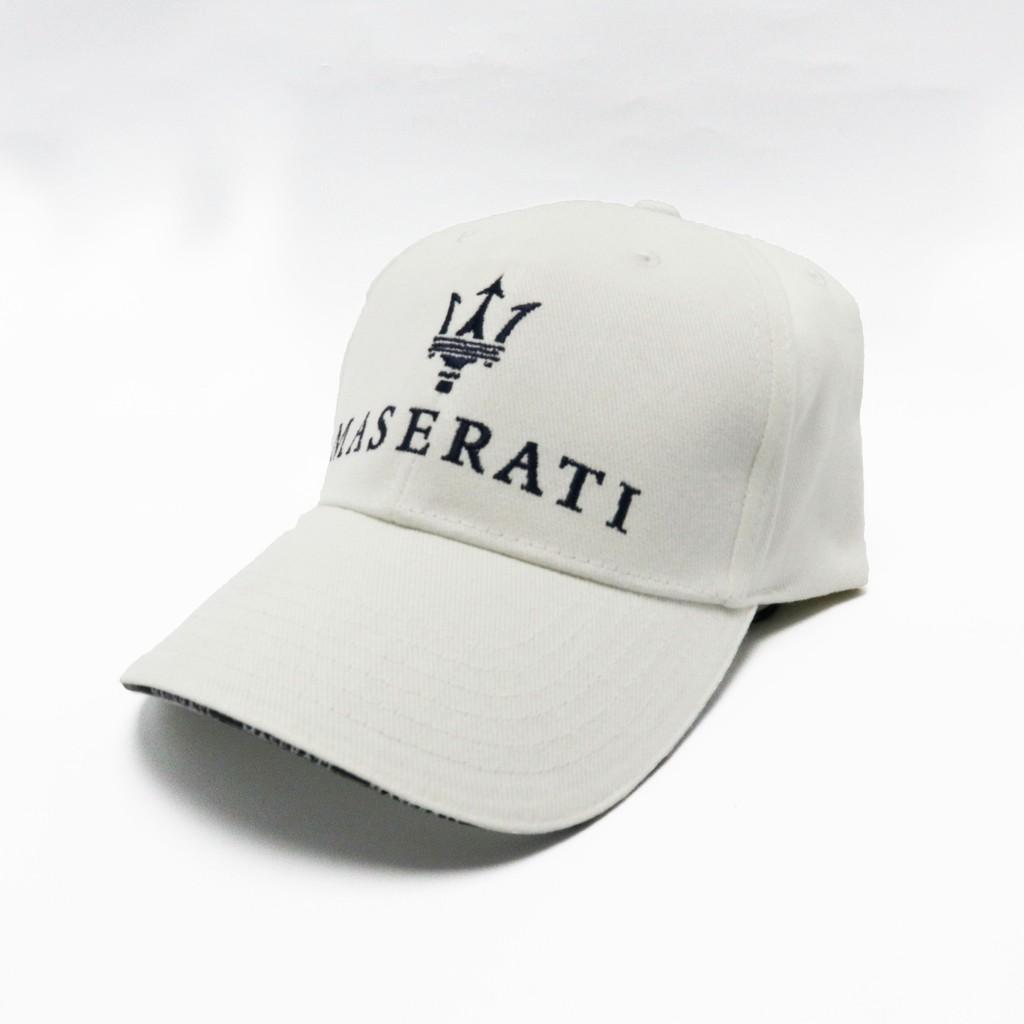 【現貨】九款 全新僅拆封 瑪莎拉蒂 Maserati 刺繡logo老帽 棒球帽 遮陽帽子 鴨舌帽 老帽