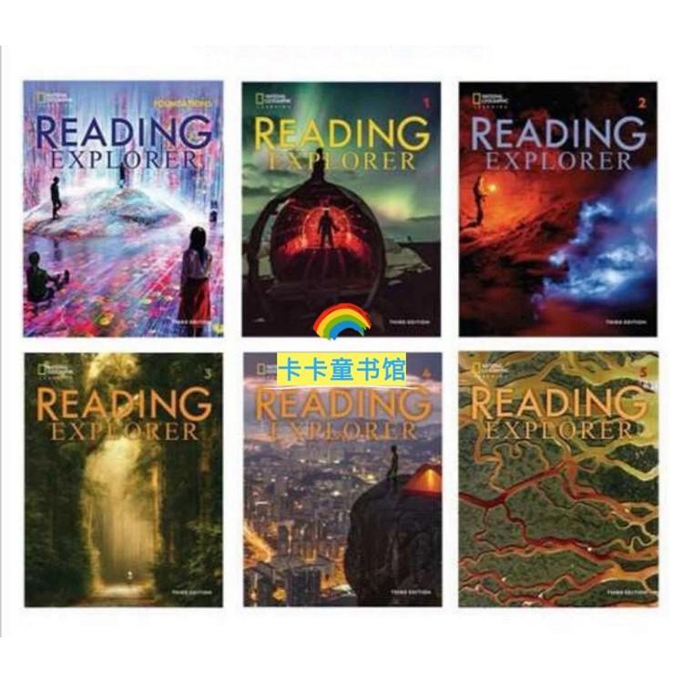 Reading Explorer(閱讀險探?者)最新第三版 F 1 2 3 4 5 階全段?套6點讀版 RE